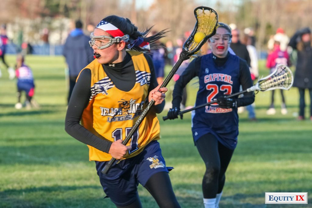 Early Recruit-2014 Girls Club Lacrosse - Yellow Jackets - Lax4Cure-Equity IX-SportsOgram-Leigh Ernst Friestedt