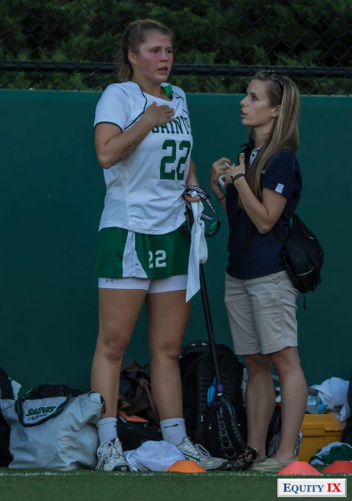 #22 Grayson Offutt - Sports Injury - 2015 ISL Finals - Girls High School Lacrosse - Early Recruit © Equity IX-SportsOgram-Leigh Ernst Friestedt