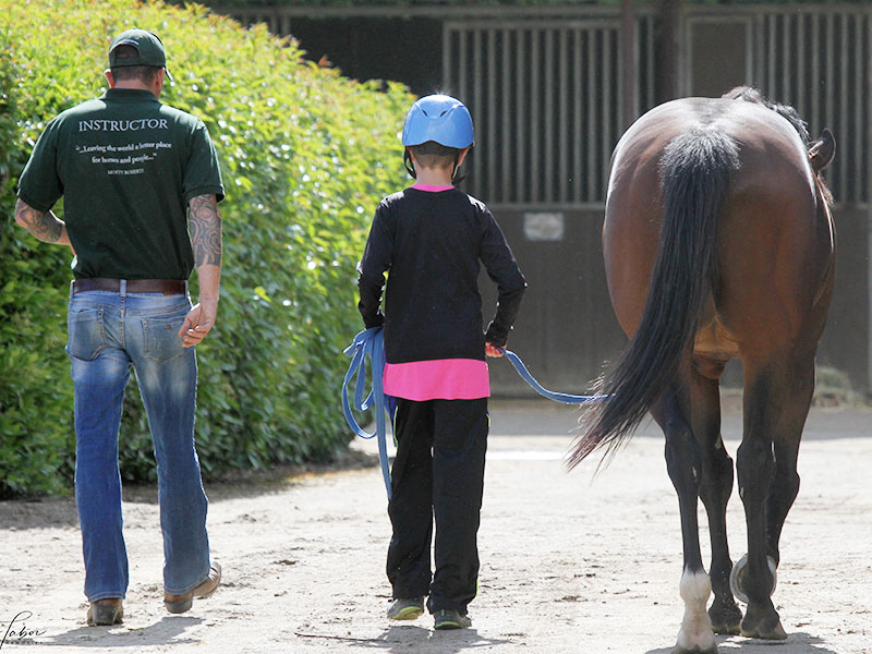 Monty Roberts Kids Course - Monty Roberts Certified Instructor Simon d'Unienville
