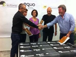 EQUO firma un protocolo con Electores (Alhaurín de la Torre- Málaga)
