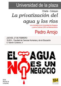 UNIVERSIDAD-DE-LA-PLAZA_15MHuesca_-Pedro-Arrojo_Agua-585x827