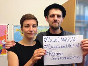 EQUO, ICV y el Partido Verde Europeo reclaman la suspensión de las prospecciones en Canarias