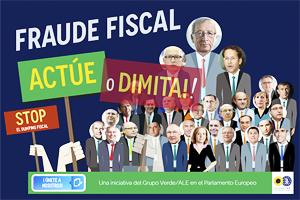 Lanzamos campaña contra el fraude fiscal en Europa: 'Juncker: Actúe o dimita!'