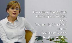 Rosalba Fontériz cuenta cómo recuperaron el agua pública en Valladolid