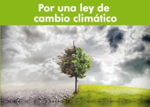 Presentamos una interpelación urgente al Gobierno por no presentar la Ley de Cambio Climático