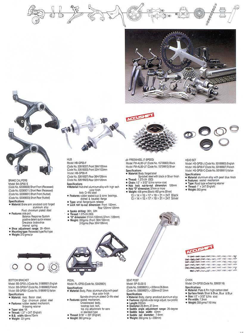 Suntour Technical Manual/Catalog scans