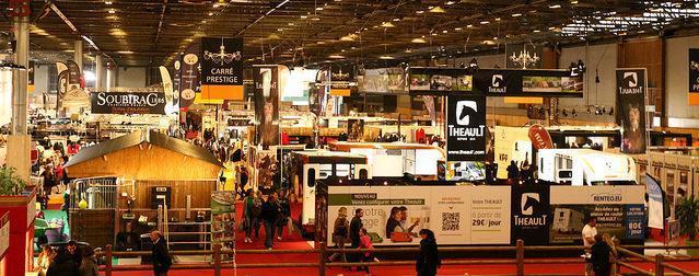 The Salon du Cheval de Paris takes a sporting turn  Equestrian Worldwide  Pferdesport weltweit