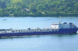 Танкер класса река-море проект № 15781 «Капитан Бармин»