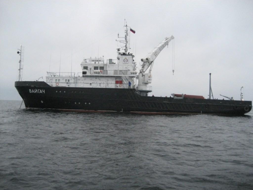 Гидрографическое судно Вайгач
