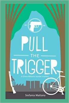murder mystery novels paperback edition, pul the trigger paperback cover