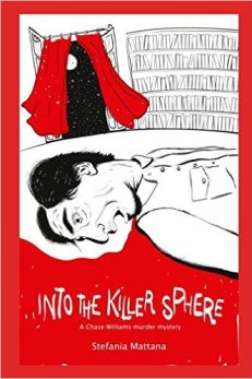 murder mystery novels paperback edition, into the killer sphere paperback cover