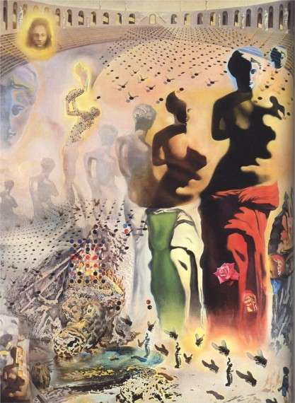The Hallucinogenic Toreador, c.1970 By: Salvador Dalí