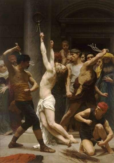 Η Φραγγέλωση του Ιησού Χριστού, του William-Adolphe Bouguereau (1880).