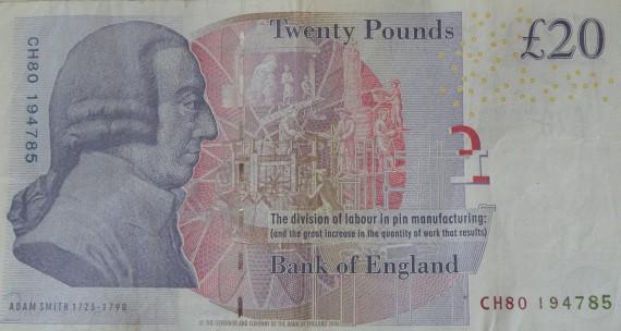 O Άνταμ Σμιθ (αγγλικά: Adam Smith, 16 Ιουνίου 1723 - 17 Ιουλίου 1790) ήταν Σκωτσέζος οικονομολόγος και ηθικός φιλόσοφος. Θεωρείται ένας από τους πρωτοπόρους της πολιτικής οικονομίας και θεμελιωτής της σχολής των κλασικών οικονομικών.