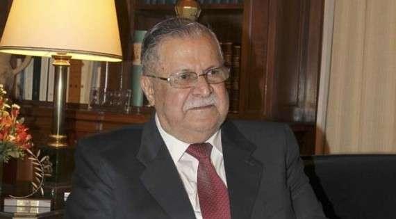 Ο ηγέτης του PUK Ταλαμπανί.