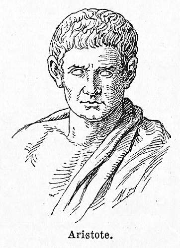 Ο Αριστοτέλης (Στάγειρα 384 - Χαλκίδα 322 π.Χ.)