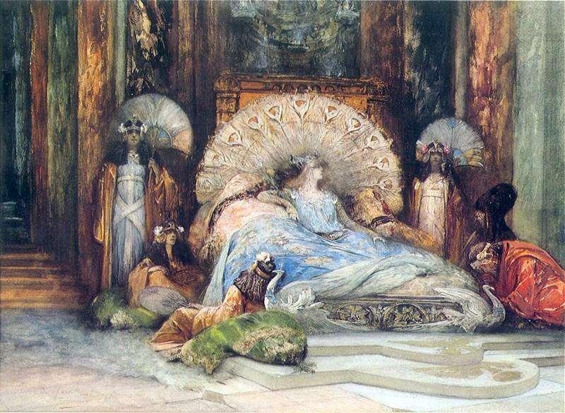 Πινάκας του Georges Jules Victor Clairin που αναπαριστά την Θεοδώρα (1902)