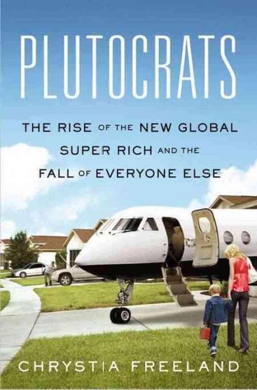 Η Κρίστια Φρίλαντ στο βιβλίο της «Πλουτοκράτες» δίνει μεγάλη βαρύτητα σε μια οικονομική μελέτη που δόθηκε στη δημοσιότητα στις αρχές του 2007