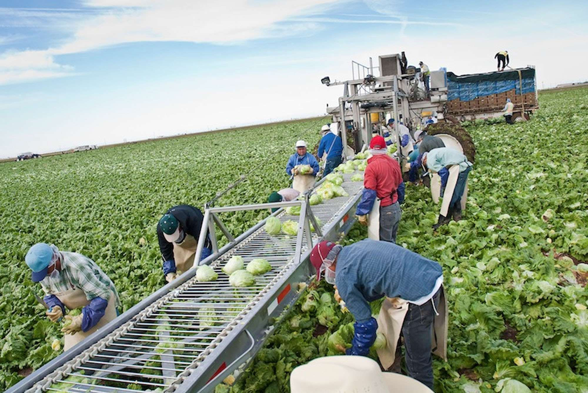 Εργάτες γης στο Μεξικό