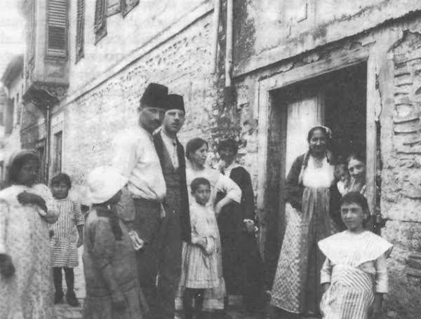 Εβραϊκή οικογένεια στη Θεσσαλονίκη