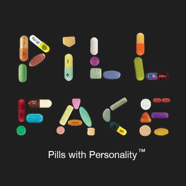 Pill Face - Pills with Personality™ by Eran Thomson