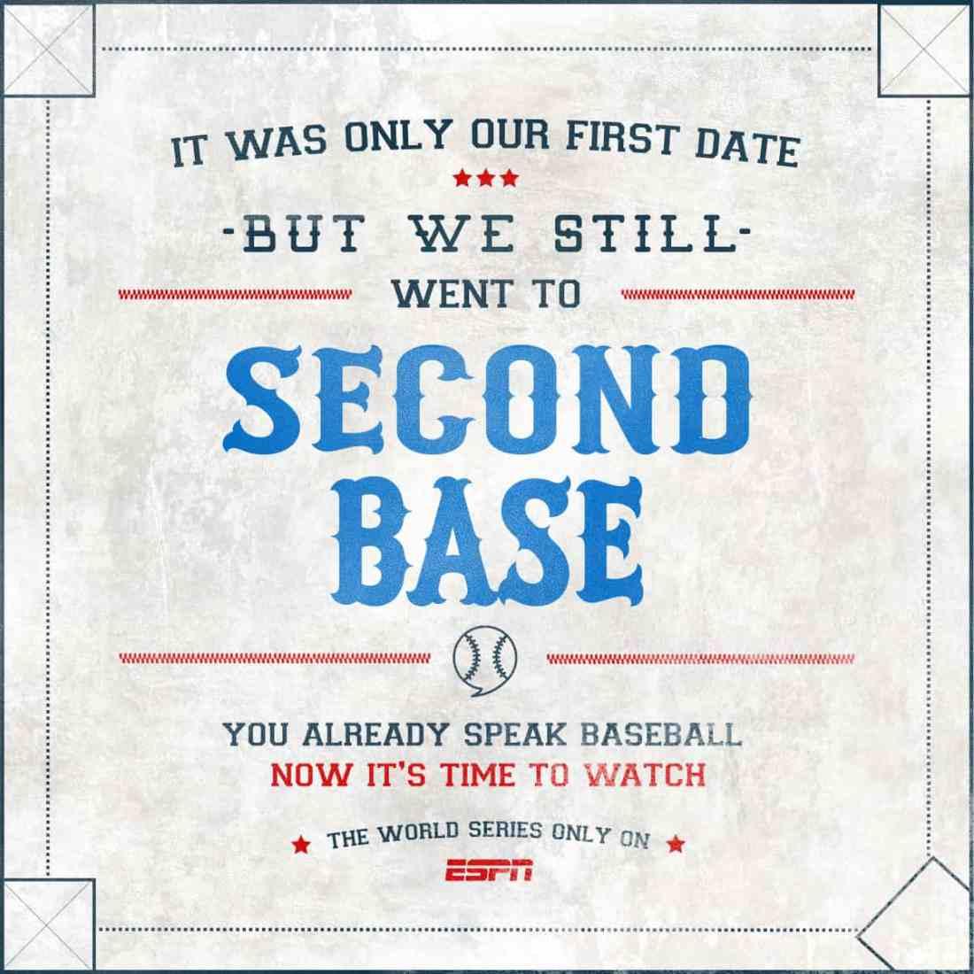 ESPN World Series Baseball Eran Thomson Creative Director, Copywriter