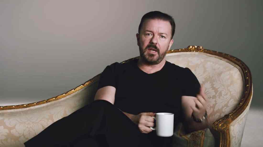 Ricky Gervais Eran Thomson Optus Ad review on AdNews