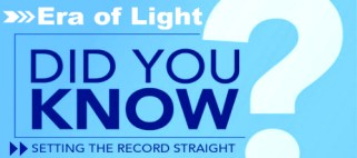 did you know eraoflightdotcom