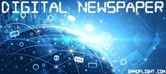 digital newspaper era of light dot com