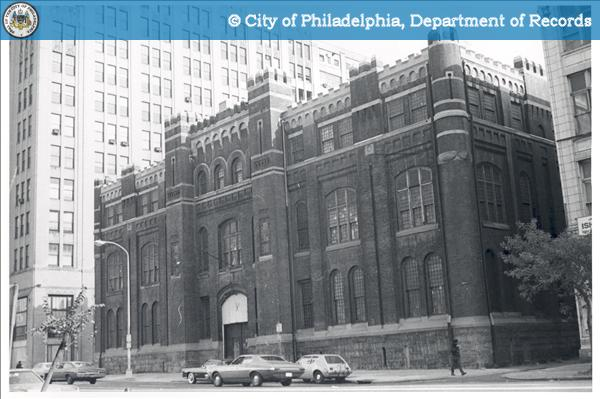Former U. S. Armory, South East Corner of Broad & Callowhill, South East Project:335 - 347 North Broad Street.