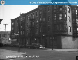 13th and Green Streets, 1960 (via http://www.phillyhistory.org/PhotoArchive/Detail.aspx?assetId=106154)