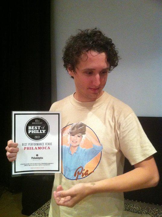 We are Philadelphia Magazine's 2013 BEST OF PHILLY - BEST PERFORMANCE VENUE award winner! — with Eric Bresler.