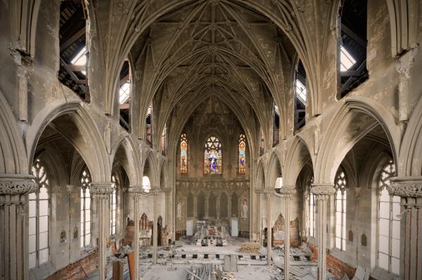 Philadelphia's threatened Church of the Assumption. Credit: Jonathon Much, Much Photography