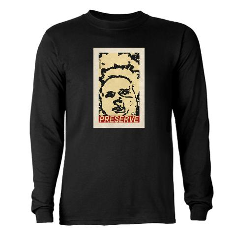PRESERVE Long Sleeve Dark T-Shirt > PRESERVE > Eraserhood
