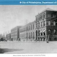 Broad Street - Front of Baldwin Locomotive Works