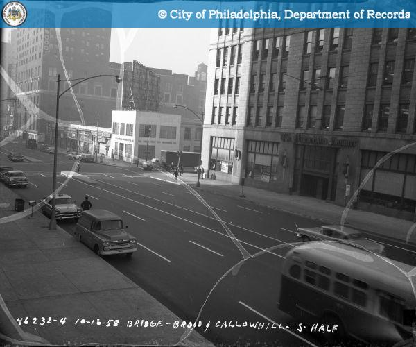 Bridge - Broad and Callowhill Streets - South Half.