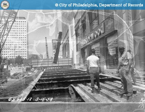 Contract 12620 - Bridge Broad and Callowhill Streets: Demolition stage IV.