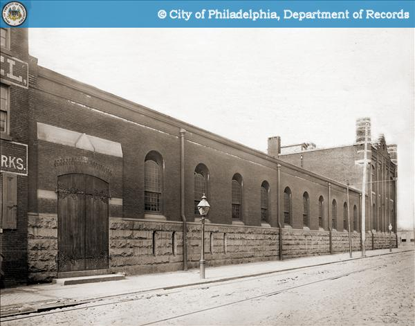 South Side of Callowhill Street from Broad Street.