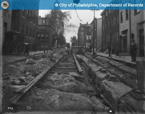 13th Street North-North from Buttonwood Street.