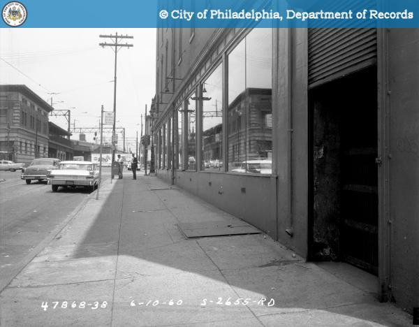 Contract S-2655-RD - 9th Street and Spring Garden to 10th Street and Buttonwood Street: East Side 9th Street Between Nectarine Street and Spring Garden Street.