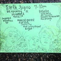 EARTH SIGNS Art Opening