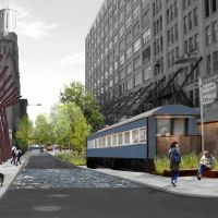 Abandoned diner car to become Rail Park's welcome center - Curbed Philly