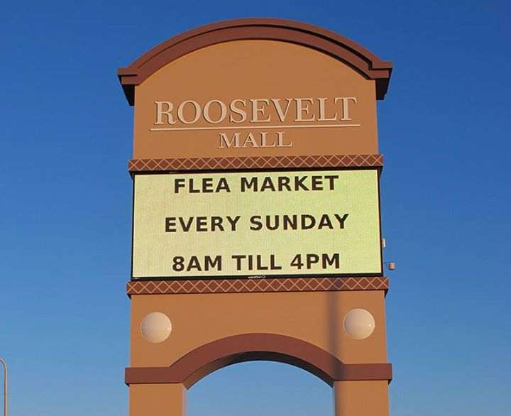Sunday Outdoor Phila Flea Market at Roosevelt Mall