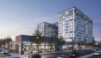 12-Story, 382-Unit + Retail Project to Replace Strip Mall at 5th & Spring Garden – Rising Real Estate