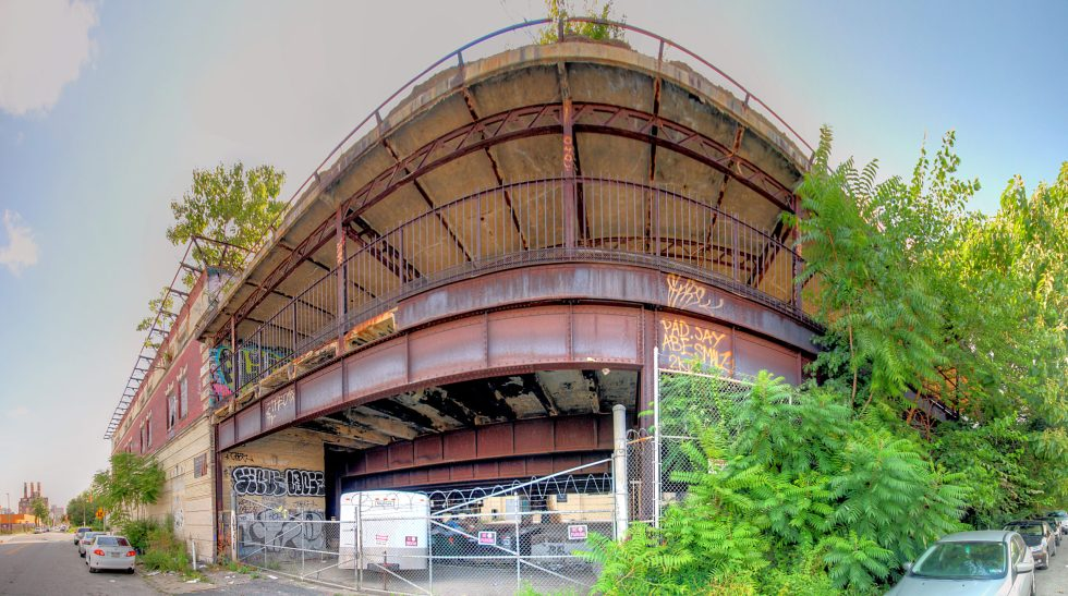 Green Street Station (abandoned) 531 N 9th St Philadelphia, PA Copyright 2020, Bob Bruhin. All rights reserved.