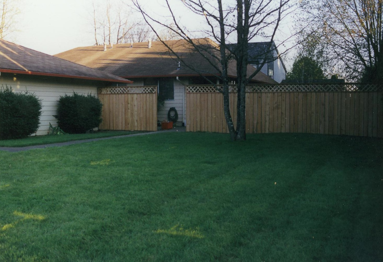 Nice to have more privacy, but still a lot of lawn to mow, you think?