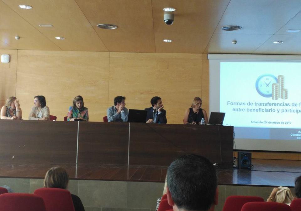 """Participación en las jornadas """"Compartiendo nuestro Erasmus"""""""