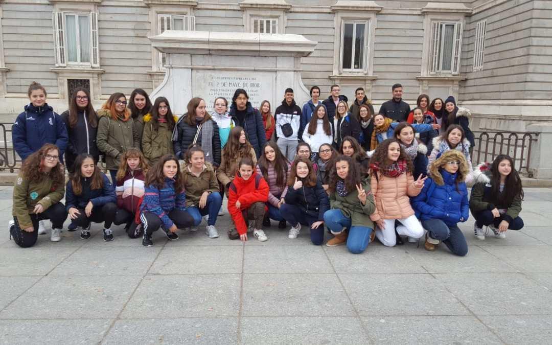 Visitando el Patrimonio Histórico de Madrid con nuestros socios