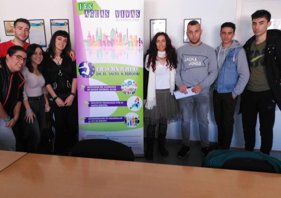Adjudicación de Becas Erasmus+ para alumnado de CFGS