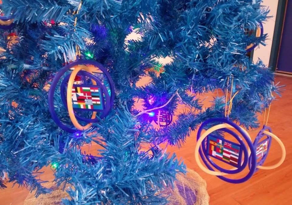 El árbol navideño más Europeo